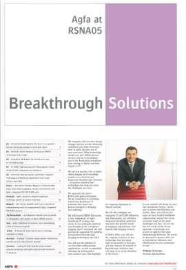 Agfa Breakthrough Solutions